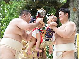 泣き相撲 シーン2