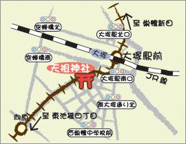 天祖神社地図
