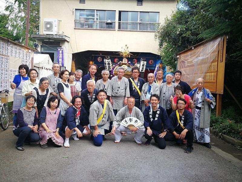 氏子の集い 西ヶ原 南谷戸自治会